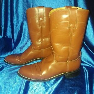 Leather Ladies TONY LAMA BOOTS - SIZE 7 1/2 B